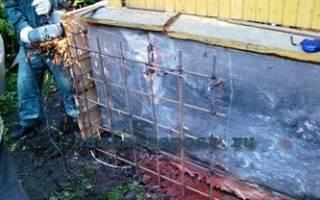 Как сделать ремонт фундамента
