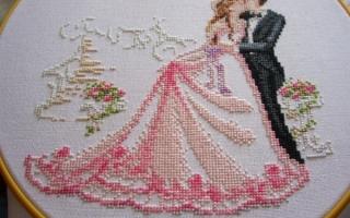 Свадебные метрики вышивка крестом схемы