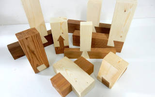 Соединение деревянных деталей без гвоздей