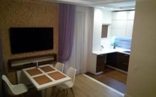Дизайн кухни гостиной 40 кв м фото