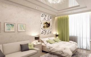 Дизайн гостиной спальни 20 кв м