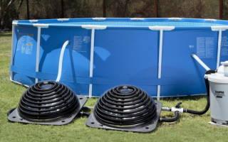 Как нагреть воду в бассейне?