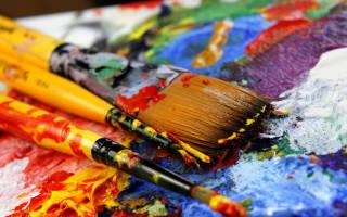 Растворитель для акриловых красок для рисования