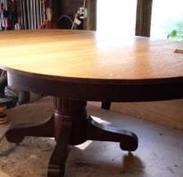 Как отреставрировать старый стол из дерева