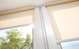 Роликовые жалюзи на пластиковые окна