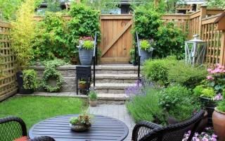 Маленький садик ландшафтный дизайн фото