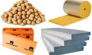 Виды теплоизоляционных материалов для стен