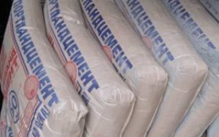 Раствор цементный м100 технические характеристики