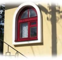 Арочные окна в домах фото
