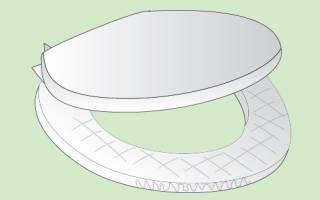 Как измерить унитаз для покупки сиденья