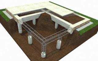 Технология изготовления буронабивных свай с монолитным ростверком