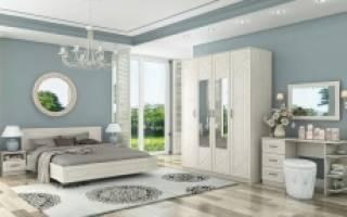 Мебель в спальню модульная