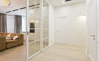 Стильный интерьер гостиной в современном стиле