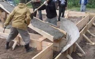 Изготовление желоба для транспортировки бетонной смеси