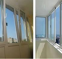 Чем лучше остеклить балкон пластиком или алюминием