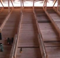 Чем подшить потолок в частном доме?
