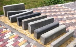 Виды бетонных бордюров