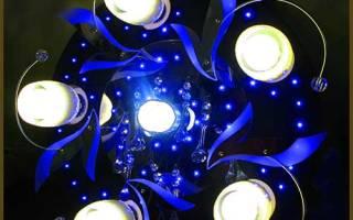 Светодиоды для люстры с пультом