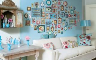 Чем можно украсить стену в комнате?