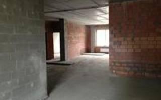 Перепланировка однокомнатной квартиры в монолитном доме