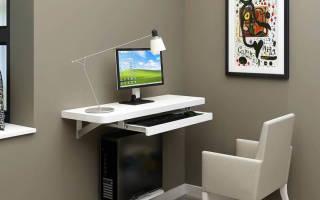 Модели компьютерных столов для небольшой комнаты фото