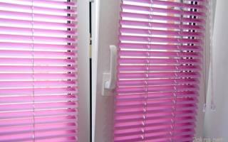 Жалюзи для пластиковых окон без сверления фото
