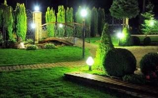 Уличное освещение для загородного дома фото
