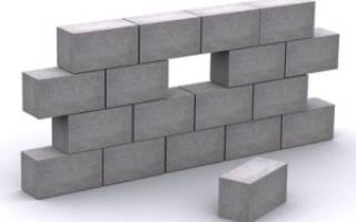 Размеры пеноблоков для строительства дома и цена