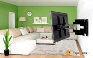 Можно ли вешать телевизор на гипсокартон?