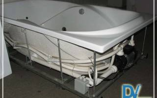 Каркас для ванны акриловой