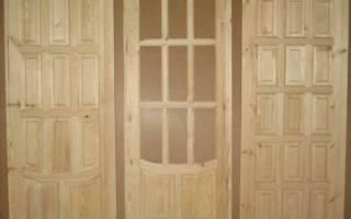 Деревянные двери для дачи уличные