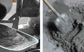 Соотношение песка и цемента для различных видов работ