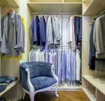 Как в комнате сделать гардеробную?