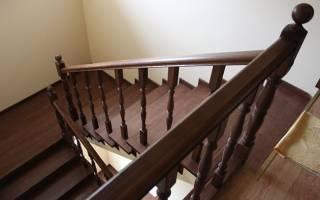 Обшивка бетонной лестницы деревом своими руками