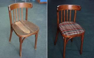 Как реставрировать стулья в домашних условиях