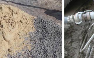 Как разводить цемент с песком пропорции