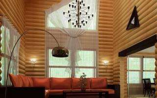 Обшивка дома блок хаусом фото