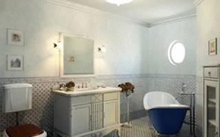 Ванные комнаты в стиле прованс