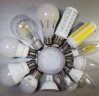 Типы лампочек для люстр