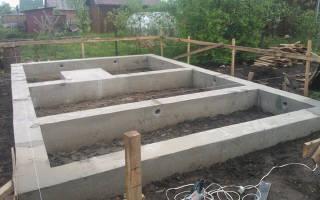 Как делать фундамент для бани правильно