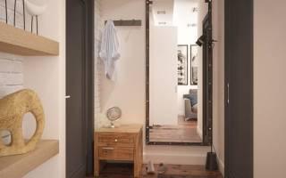 Встроенный шкаф в коридоре хрущевки