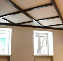 Декоративные балки на потолок своими руками