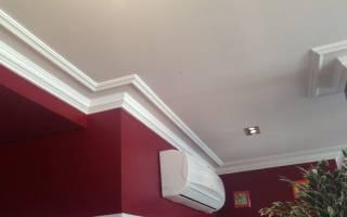 Потолочный плинтус для натяжных потолков фото