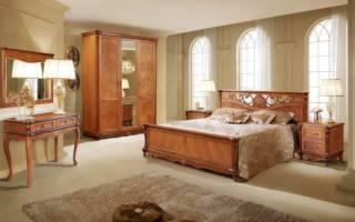 Фото спальни в бежевых и коричневых тонах