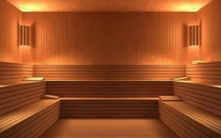 Чем обшить баню внутри недорого?