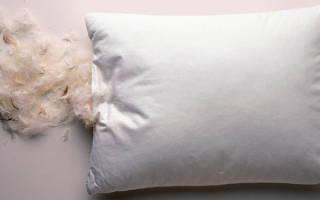 Перьевые подушки вред и польза