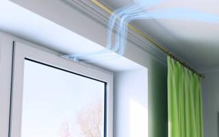 Воздушные клапаны на пластиковые окна