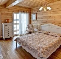 Спальня из дерева фото
