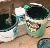 Чем развести водоэмульсионную краску если она густая?
