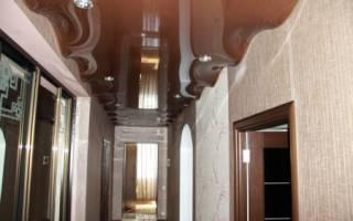 Натяжной потолок волной фото